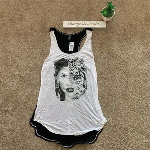 NWT Torrid Woman and Tiger Tank Top